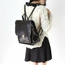 2013 New Hots Korean Style Girl's PU Leather Backpack Student  handbags Black