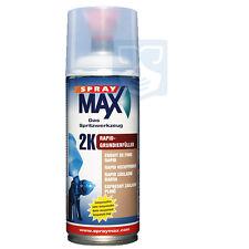 2K Beschleunigt Sprühdose grau 400ml Rapid Grundierfüller Spraymax Spraydose