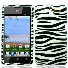 For Huawei H881C ACE HARD Protector Case Snap On Phone Cover Zebra