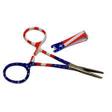 Fly Fishing Tool Kit - Forceps Pliers and Line Nipper Combo -  Flag Print