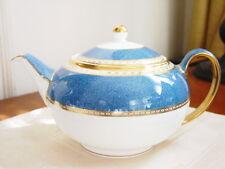 Wedgwood ULANDER POWDER BLUE Teapot MADE in ENGLAND - NEW!