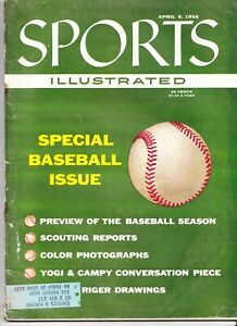 Sports Illustrated Special Baseball Issue April 9 1956