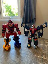 Power rangers Mini Megazords Jungle Fury And SPD Rangers Bundle Of 2