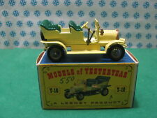 Vintage  -  SPYKER  TOURER  1904  GL    -   Matchbox  Y-16     Mint  box