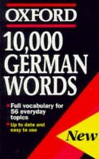 10,000 German Words (Oxford Quick Reference)