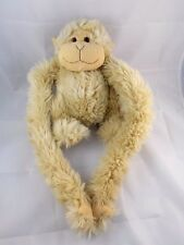 Animal Alley Tan Monkey Chimp Ape Hanging Plush Body is 12""
