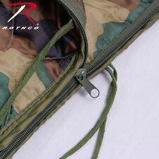 Rothco GI Style Rip-Stop Poncho Liner With Zipper Camouflage Sleep Bag