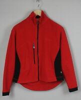FJALLRAVEN  Women's LARGE Full Zip Short Polyester Fleece Jumper 19691_JS