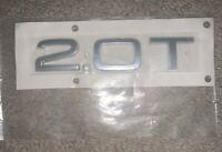 Genuine Chrome QUATTRO Inscription AUDI A3 Cabriolet 8V5853736A2ZZ