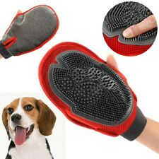 Pet Deshedding Cleaning Brush Glove Dog Hair Massage Bath Shower Grooming Supply