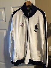 Ralph Lauren Track Jacket Mens size XXL 2007 US Open Tennis Polo Sport