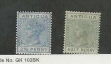 Antigua, Postage Stamp, #14, 12 Mint Hinged, 1882-86, JFZ