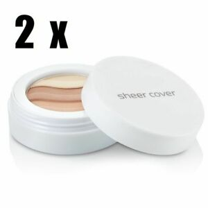 Sheer Cover Sun Kissed Bronzing Minerals Full size 4.5g x2 - BRAND NEW