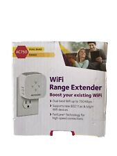 Netgear AC750 Dual Band WiFi Range Extender Up To 750 Mbps