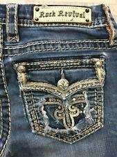 Rock Revival Women's Ava Slim Boot Cut Jeans #EP9054582L Size: 28 x 33
