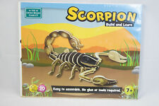 Scorpion Build And Learn Animals Green Board Game Company Kids Wooden Toy