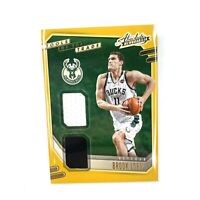 2020-2021 Absolute Memorabilia Tools of the Trade Brook Lopez Jersey Patch Bucks