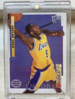 NBA 1996-97 Fleer Ultra Platinum Medallion Rookie Kobe Bryant #P266 LAKERS 1:180