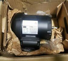 New Weg 1/2 Hp Electric Ac Motor 208-230/460 Vac 3500 Rpm 56C Frame 3 Phase