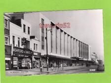 The Broadway Stratford unused deckle edge RP pc Cranley Commercial Ref D139