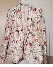 Monsoon ladies size 12 silk jacket with 3 button on the cuff new never worn