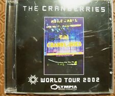 "CRANBERRIES ""LIVE AT OLYMPIA (WORLD TOUR 2002)"" CD RARE PARIS OLYMPIA MUSIC HALL"
