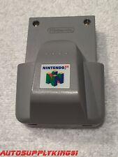 NUS-013 OEM Nintendo 64 Rumble Pak Controller Attachment Rare Mint 100% Tested