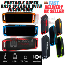 More details for best mini wireless bluetooth speaker with built-in mic usb/tf card/aux/usb