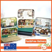 Box Theatre 3D DIY Miniature Wooden Puzzle Dollhouse Toy for Birthday Gift