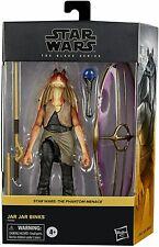 "Hasbro Star Wars Jar Jar Binks Deluxe The Black Series 6"" Inch Action Figure New"