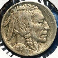 1913 5C Type 2 Buffalo Nickel (56297)