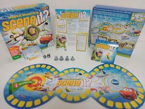 Scene it Disney Pixar Trivial Magical Moments DVD Game Mattel 2010 Complete
