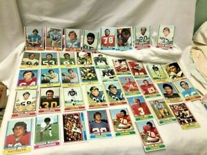 54 Topps Football 1974 Cards