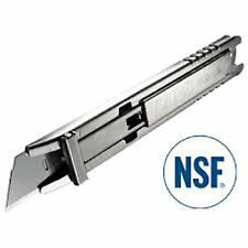 OLFA SK-12 Safety Knife - NSF Certified - All-Stainless-Steel Design