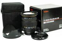 Sigma EX DC OS HSM 17-50mm f/2.8 Lens - Nikon Fit
