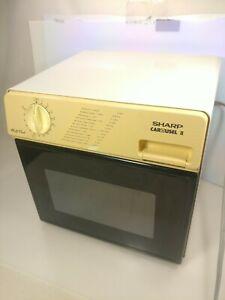 Sharp Half Pint Carousel II R-4075 Compact Microwave Oven [Mfg. May-1987]