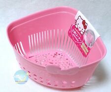 SANRIO Hello Kitty KAWAII Kitchen Triangle type Drainer Sieve Basket Raw Trash