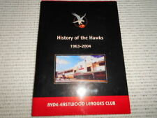Ryde-Eastwood Leagues Club & Rugby League Football Club 1963 - 2004. Hawks
