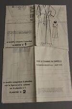 """"""" MODES & TRAVAUX """" PATRON AOUT 1978 + PATRON POUPEE MARIE FRANCOISE J MICHE A10"""