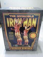 Iron Man Retro Modern Matching Number Statue Bowen Brand New MIB Full Size