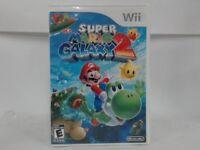SUPER MARIO GALAXY 2 Wii Complete CIB w/ Box, Manual Stickers on Game