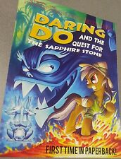 Licensed MLP My Little Pony 2 sided Poster - Daring Do - The Mane-iac