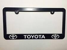 Toyota Plastic License Plate Frame Holder Decal Vinyl