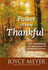 The Power of Being Thankful by Joyce Meyer - Book - NEW