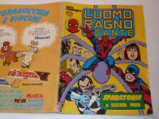 BD 1981 marvel SPIDERMAN sparatoria CENTRAL PARK L'UOMO RAGNO GIGANTE n°57