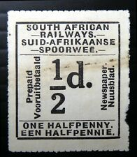 SOUTH AFRICA ½d Railway Newspaper Stamp Cancelled NW733