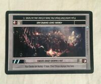 Star Wars CCG SWCCG Endor CHIEF CHIRPA'S HUT Rebel Light Side LOCATION card