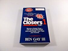The Closers Part 1 Book Ben Gay III Sales Closers Bible Famous Blue Book