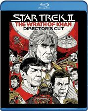 BLU-RAY  STAR TREK THE WRATH OF KHAN DIRECTORS CUT NEW SEALED GENUINE UK  STOCK