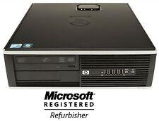 HP 4000/8000/6000 Windows 7 Pro Core 2 Duo 3GHz, 8GB, DVD/RW, WiFi Ready Desktop